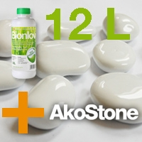 "Bionlov® Premium + AKOSTONE ""White"" Value Pack H"