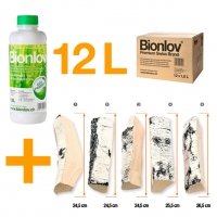 "Bionlov® Premium + AKOWOOD ""Birke gross"" Value Pack K"