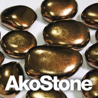 "Keramiksteine AKOSTONE ""Old Gold"""
